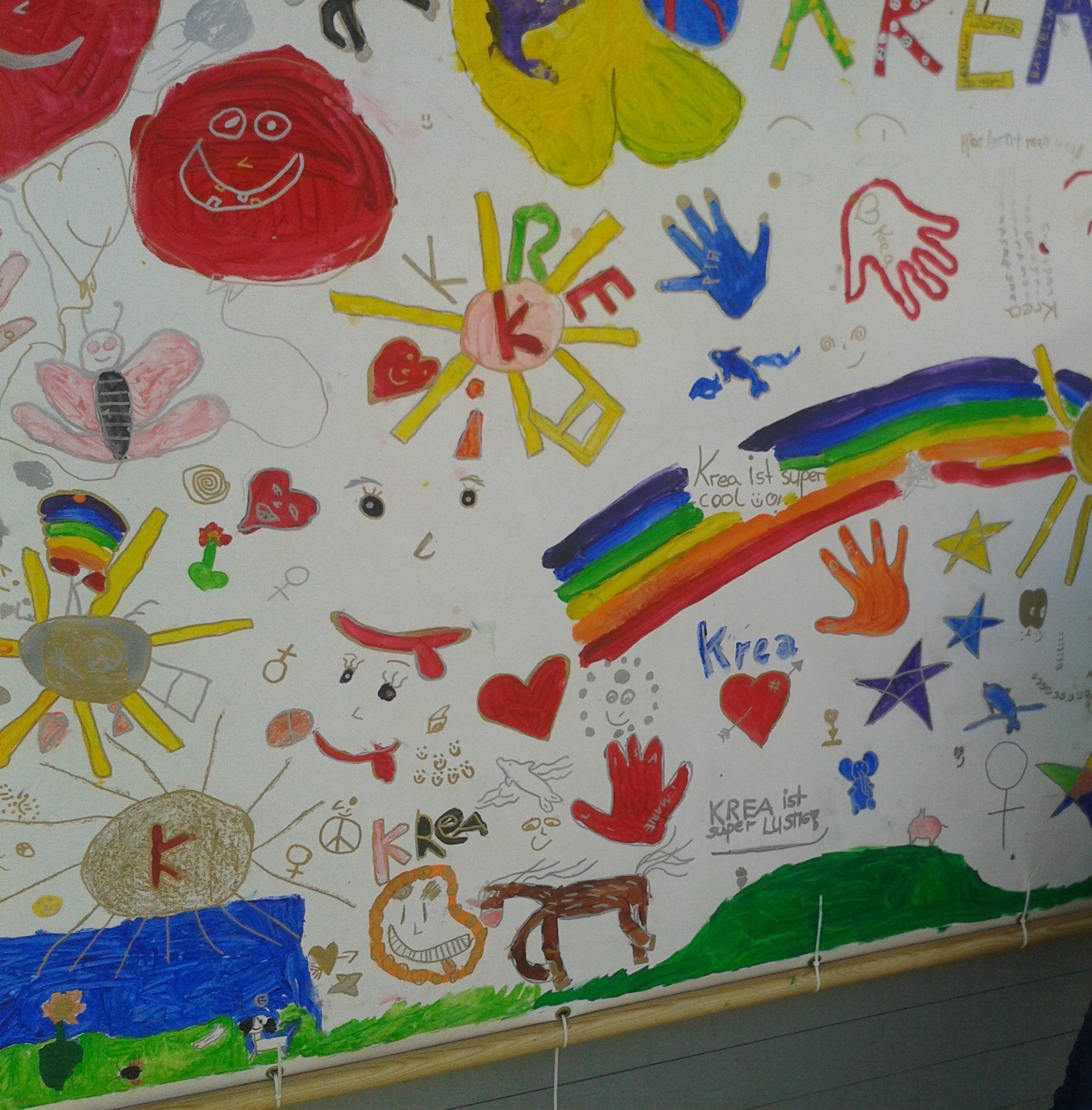Kreativer Regenbogen